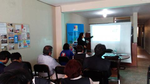 Presentan resultados de veeduría al inicio del año escolar en 56 escuelas de Moquegua