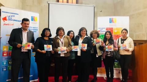 """Ciudadanía arequipeña participará en """"La Voz de Mi Comunidad"""""""