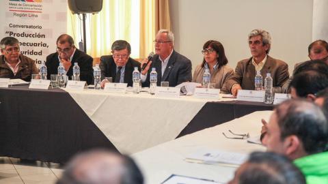 POLÍTICAS SOBRE PRODUCCIÓN AGROPECUARIA, SEGURIDAD ALIMENTARIA Y CAMBIO CLIMÁTICO SERÁN PARTE DEL ACUERDO DE GOBERNABILIDAD
