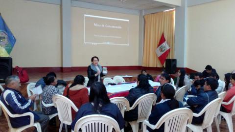 Mesa provincial de Chincheros se reúne para elaborar sus prioridades de trabajo y la Construcción del Acuerdo de Gobernabilidad Local.