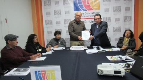 MCLCP REGIÓN LIMA APROBÓ DOCUMENTO PARA LA SUSCRIPCIÓN DEL ACUERDO DE GOBERNABILIDAD PARA EL DESARROLLO HUMANO  2019-2022
