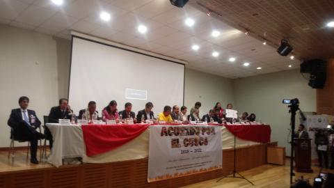 CUSCO: 16 CANDIDATOS SUSCRIBEN ACUERDO DE GOBERNABILIDAD REGIONAL 2019-2022