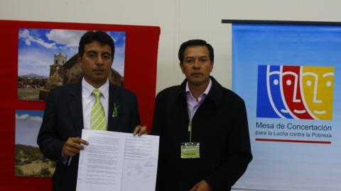 Mesa de Tacna ratifica compromisos con el Clima