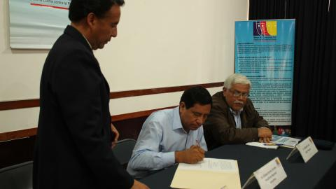 Presidente regional de Amazonas ratificó el Acuerdo de Gobernabilidad 2015-2018