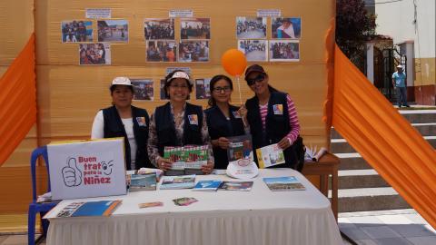 Feria informativa por el Día Internacional de reducción de riesgos de desastres