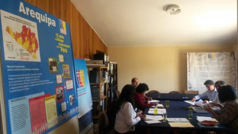Primera reunión de coordinación del comité de seguimiento a los Acuerdos de Gobernabilidad