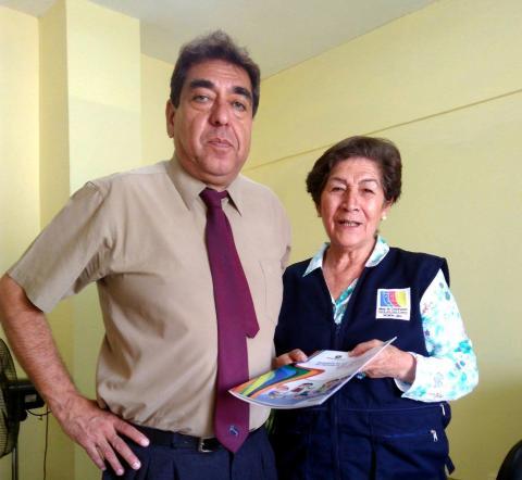Visita a la Beneficencia Pública de Huacho