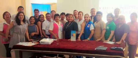 Eligen coordinadora titular y coordinadora adjunta  de la Mesa de Ucayali.