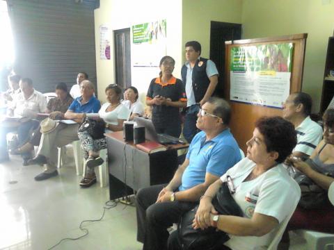 Coordinaciones para articulación de acciones en torno a la emergencia por el fenòmeno del niño costero