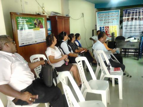 Reunión para análisis de información de afectación de los sectores a consecuencia del fenómeno del niño costero
