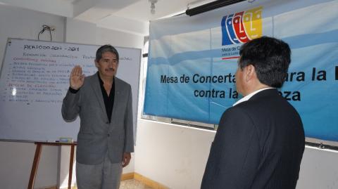 MCLCP de Apurímac elige nuevo Coordinador Regional Arquitecto Marco Gamarra para el período 2017-2019