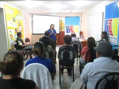 Reunión del Comité Ejecutivo Regional MCLCP-Ica