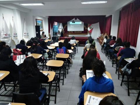 Presentación de los hallazgos del Seguimiento Concertado sobre Violencia hacia Mujeres en Apurímac en la Universidad Alas Peruanas
