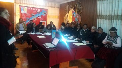 EL Comité Ejecutivo Regional de la MCLCP,  socializa avances del seguimiento concertado del Acuerdo de Gobernabilidad