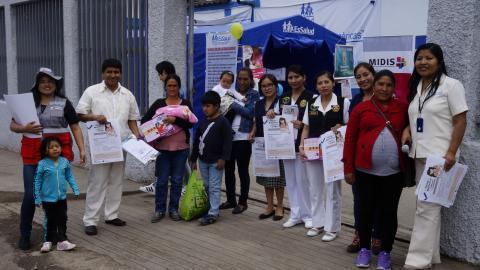 """MCLCP- Apurímac participó en Feria informativa sobre """"Lactancia Materna Exitosa"""""""