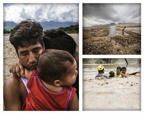 """Muestra fotográfica """"Nuestros Ojos: de la emergencia a la reconstrucción"""" llega a Trujillo"""