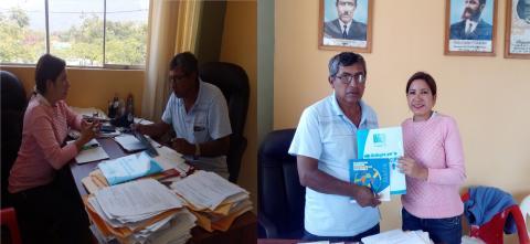 Reunión de coordinación para instalar Mesa de Concertación en el distrito de Chóchope
