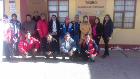 Consejo Multisectorial de la Provincia de Chucuito Juli, realiza el análisis del eje económico y ayuda a difundir la Campaña Nacional contra la Anemia.