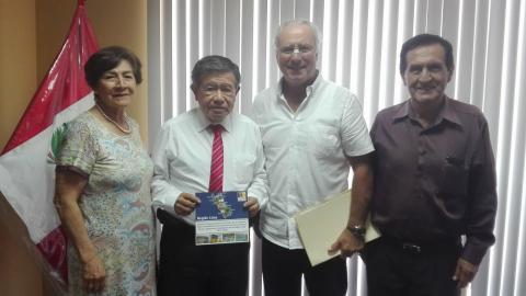 Reunión con el Gobernador del Gobierno Regional de Lima