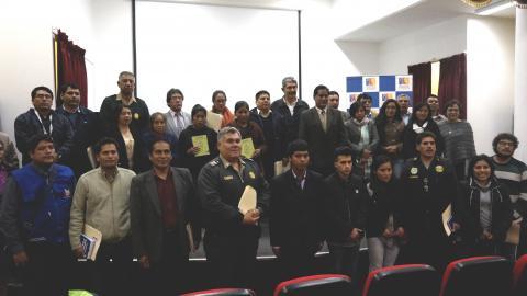 Universidad Jose Maria Arguedas de Andahuaylas fue elegido como coordinador provincial de la Mesa Provincial de Andahuaylas