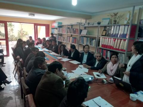 AYACUCHO INICIA REUNIONES CON EQUIPOS TÉCNICOS PARA REVISAR PROPUESTAS DEL ACUERDO DE GOBERNABILIDAD AL 2022