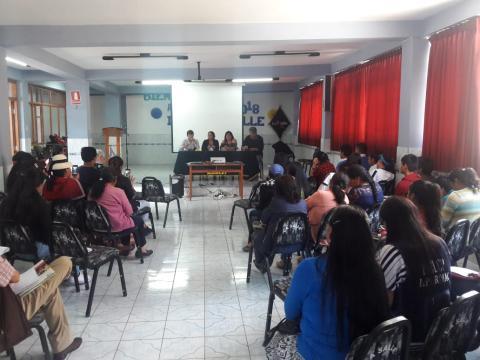 Pacto Social por Justicia de género y violencia contra la mujer-balance de implementación y socialización de eventos provinciales