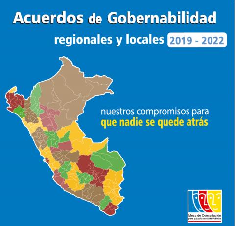 93% DE CANDIDATOS Y CANDIDATAS AL GOBIERNO REGIONAL  FIRMARON ACUERDOS DE GOBERNABILIDAD CONTRA LA POBREZA