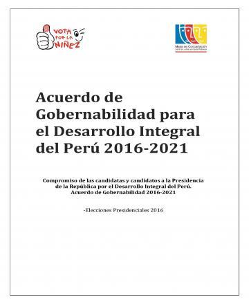 Acuerdo de Gobernabilidad para el Desarrollo Integral del Perú 2016-2021