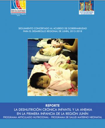Reporte La desnutrición crónica infantil y la anemia en Junín