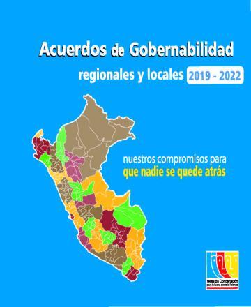 Acuerdos de Gobernabilidad regionales y locales 2019-2022