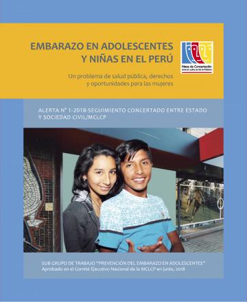 Alerta Embarazo en Adolescentes y Niñas en el Perú